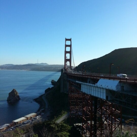 Photo taken at Vista Point by Mike B. on 1/30/2013