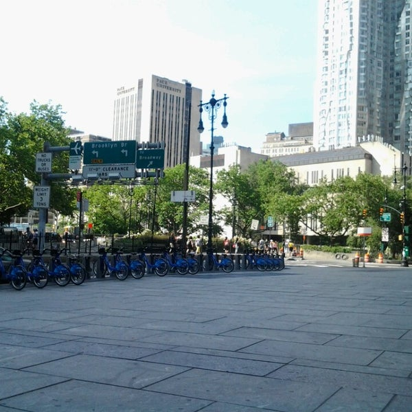 Photo taken at City Hall Park by Thurman J. on 6/22/2013