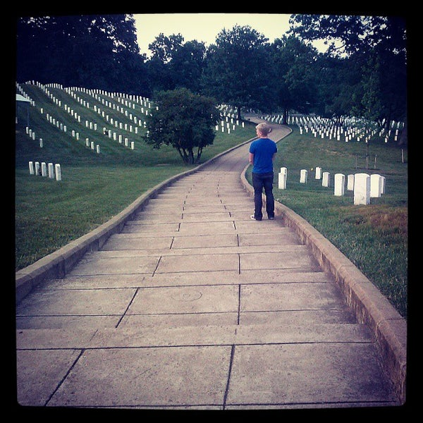 Photo taken at Arlington National Cemetery by Justine C. on 6/4/2013