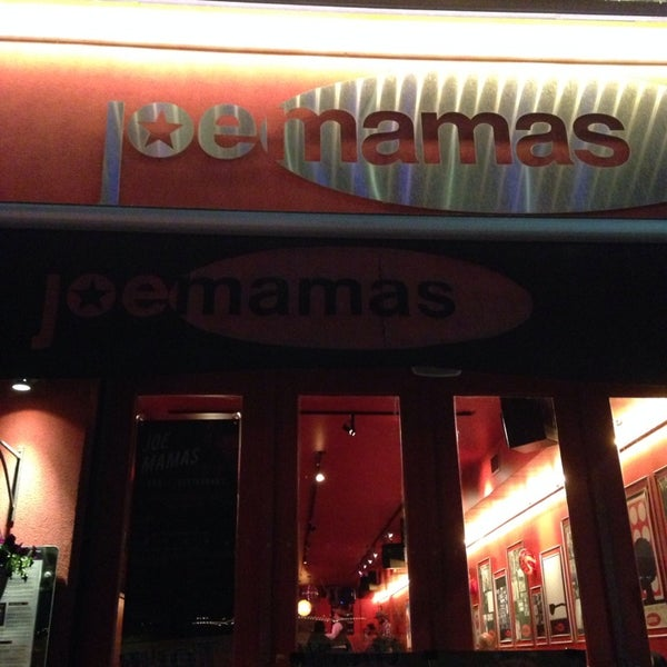Photo taken at Joe Mamas by tomo s. on 5/9/2014