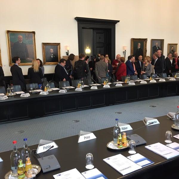 Photo taken at Hamburg Chamber of Commerce by Lars B. on 4/6/2017