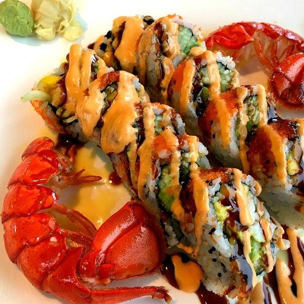 Blue fish ocean city md for Blue fish sushi menu