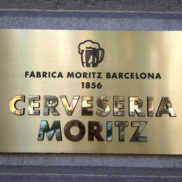 Foto tomada en Fàbrica Moritz Barcelona por Xavier P. el 6/6/2013