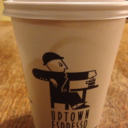Photo taken at Uptown Espresso by Altaf R. on 12/3/2012