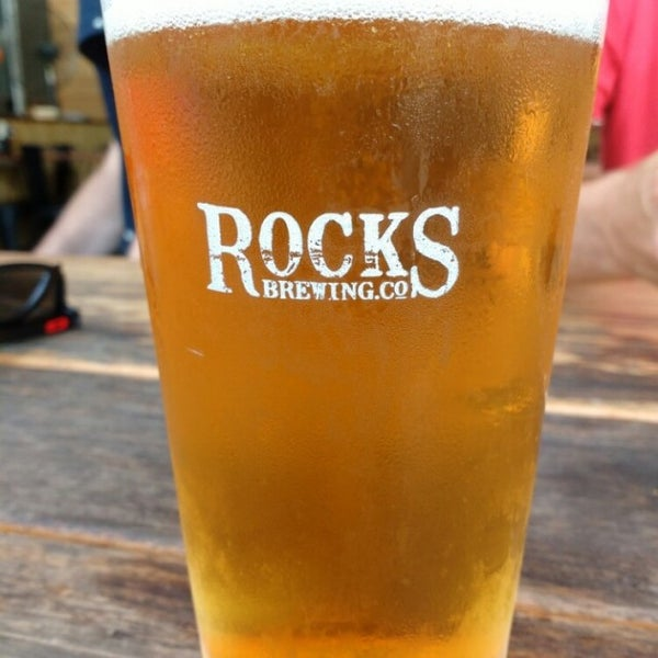 Photo taken at Rocks Brewing Co by Frozen S. on 3/2/2016