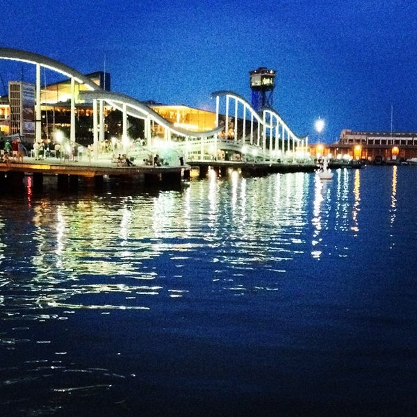 Photo taken at OneOcean Port Vell Barcelona by Sibasish A. on 8/30/2014