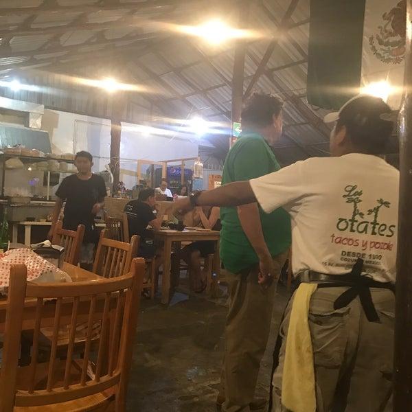 Los otates restaurante mexicano en cozumel for Los azulejos restaurante mexicano