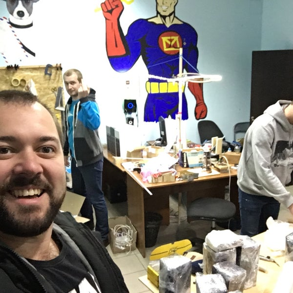 Das Foto wurde bei Сити Квест & Скаут квест комната von Ярик З. am 2/11/2018 aufgenommen
