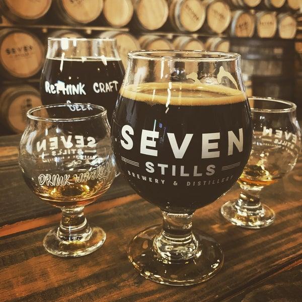 Photo taken at Seven Stills Brewery & Distillery by Graham H. on 10/22/2016