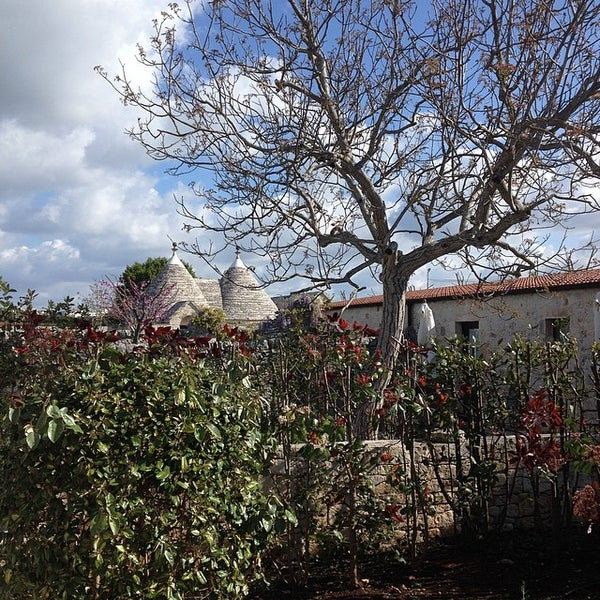 Photo taken at Abate Masseria & Resort Noci by Alex on 4/16/2014
