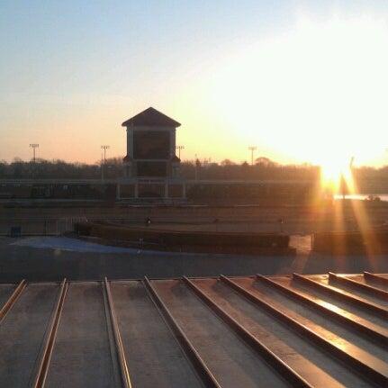 Photo taken at Prairie Meadows by Richard M. on 2/12/2013
