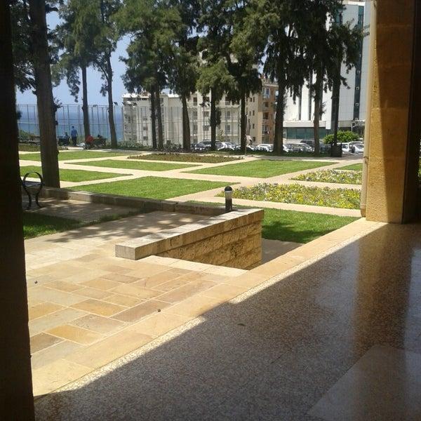 Photo taken at Holy Spirit University Of Kaslik by Maria E. on 5/25/2013
