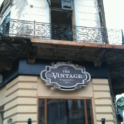 Photo taken at The Vintage Pub by Gabriel B. on 2/26/2013