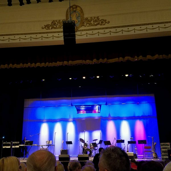 Photo taken at Patchogue Theatre by Paula S. on 9/24/2016