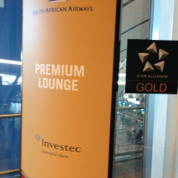 Photo taken at SAA Business Lounge by Nick L. on 1/27/2013