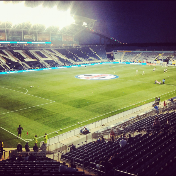 Photo taken at Talen Energy Stadium by Major League Soccer on 9/20/2012