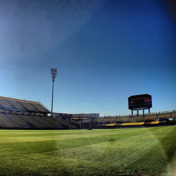 Photo taken at MAPFRE Stadium by Major League Soccer on 9/29/2012