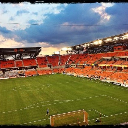 Photo prise au BBVA Compass Stadium par Major League Soccer le10/7/2012
