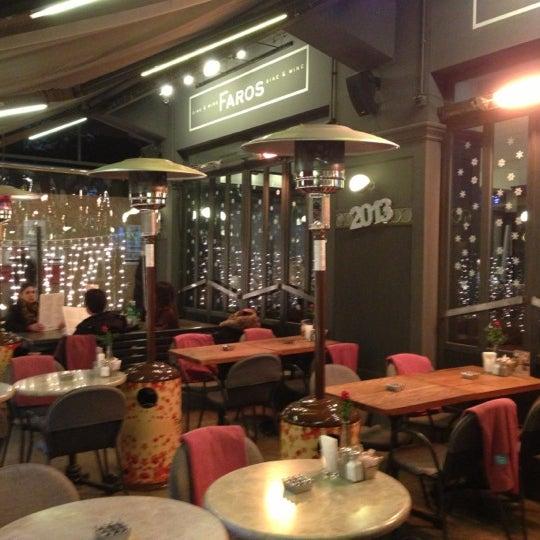 12/11/2012 tarihinde Kenan A.ziyaretçi tarafından Faros Restaurant'de çekilen fotoğraf