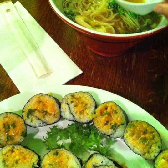 Photo taken at Noodle Cafe Zen by Nathan L. on 2/11/2012