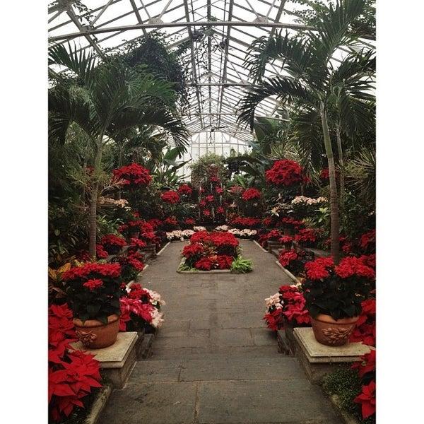 Photo taken at Planting Fields Arboretum by Leah N. on 1/3/2014