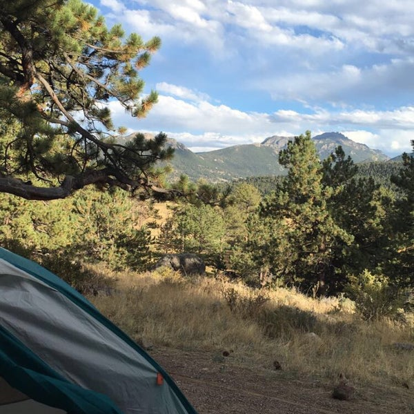 Campgrounds Estes Park Colorado: Moraine Park Campground