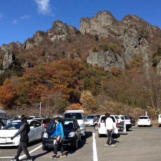 Photo taken at 妙義公園駐車場 by Satoru N. on 11/18/2012