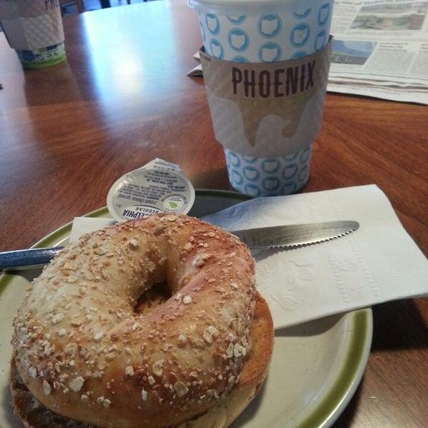 Photo taken at Phoenix Coffee by Lee T. on 6/30/2014