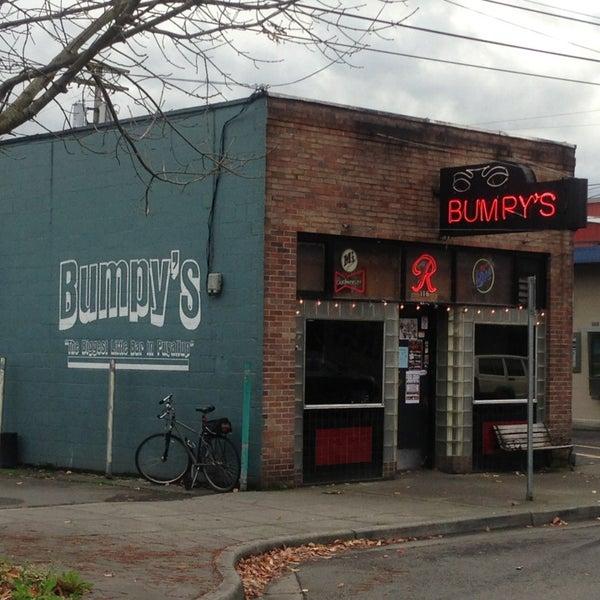 Bumpy S Cafe Menu