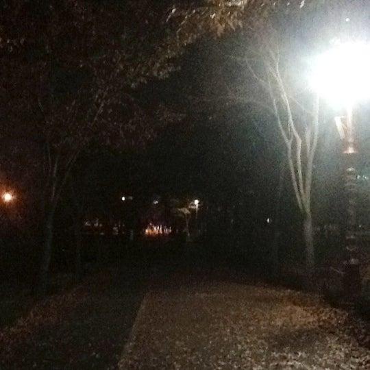 Photo taken at Yuldong Park by Byungah P. on 10/26/2012