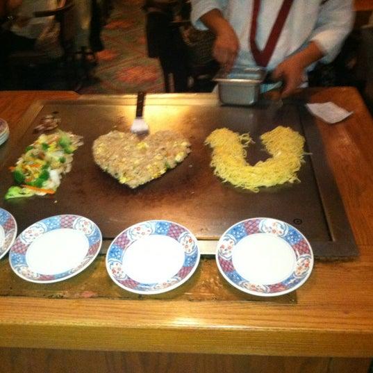 Photo taken at Mt. Fuji Japanese Steak House by Doug L. on 12/2/2012