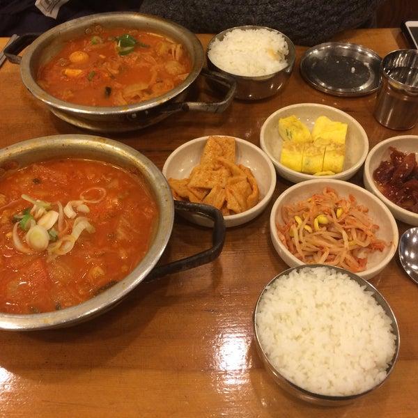 2/16/2016에 po8orsky님이 김북순 큰남비집에서 찍은 사진