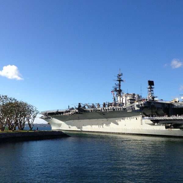 Photo taken at USS Midway Museum by Nick G. on 1/7/2013