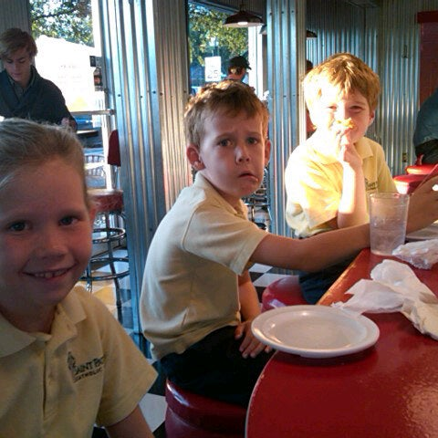 Photo taken at Donut Dinette by Willette on 9/21/2012