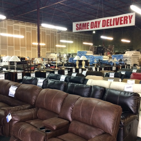 Photo Taken At American Freight Furniture And Mattress By Ameri F. On 4/18