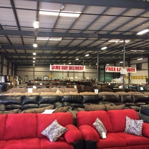 Photo Taken At American Freight Furniture And Mattress By Ameri F. On 3/27