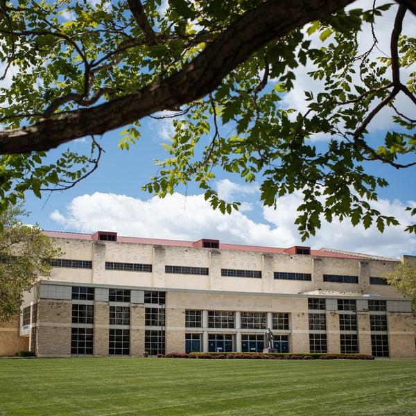 Photo taken at Allen Fieldhouse by University of Kansas on 1/11/2018