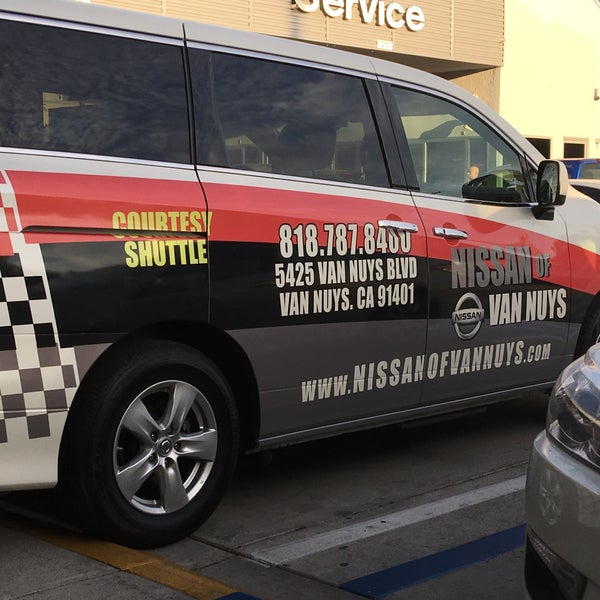 Photo Taken At Nissan Of Van Nuys By Jason G. On 10/8/