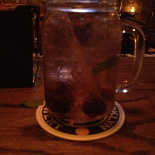 Photo taken at Double Wide Bar & Southern Kitchen by Scott W. on 3/3/2012