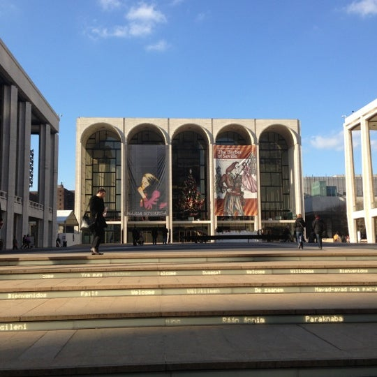 12/13/2012にBrandon T.がLincoln Center for the Performing Artsで撮った写真