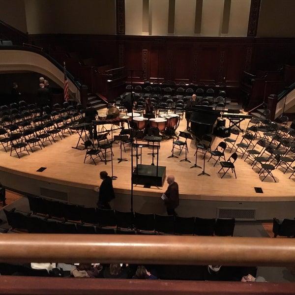 Photo taken at Hochstein School of Music & Dance by Nina T. on 3/12/2016