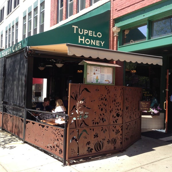 Photo taken at Tupelo Honey by Marcus C. on 4/20/2013