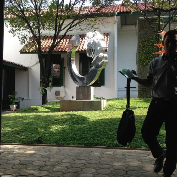 Photo taken at Museum Seni Rupa dan Keramik by dika w. on 8/24/2013
