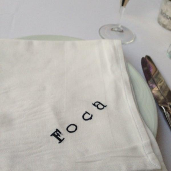 5/13/2013 tarihinde hikmet b.ziyaretçi tarafından Foça Fish Gourmet'de çekilen fotoğraf