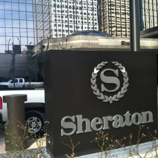 Photo taken at Sheraton Denver Downtown Hotel by Kyle B. on 2/19/2013