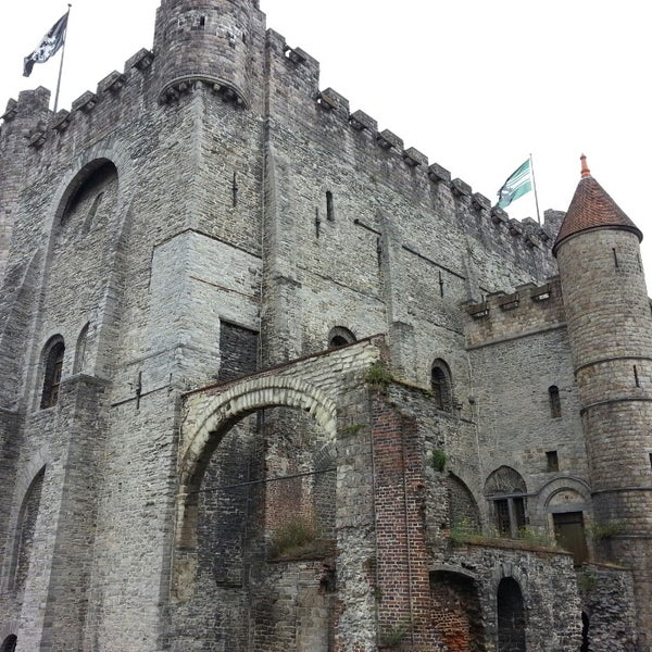 Photo taken at Castle of the Counts by TravelThirst /. on 7/20/2013