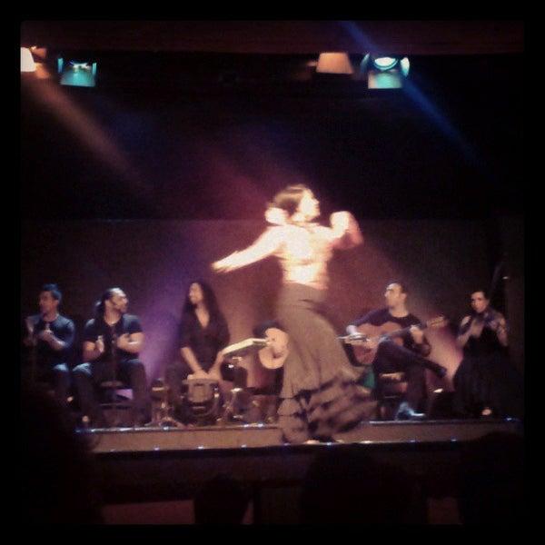 Photo taken at Palacio del Flamenco by Sophia L. on 7/17/2013