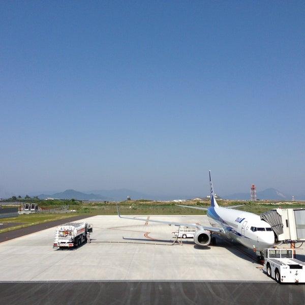 5/13/2013にIwao O.が岩国錦帯橋空港 / 岩国飛行場 (IWK)で撮った写真