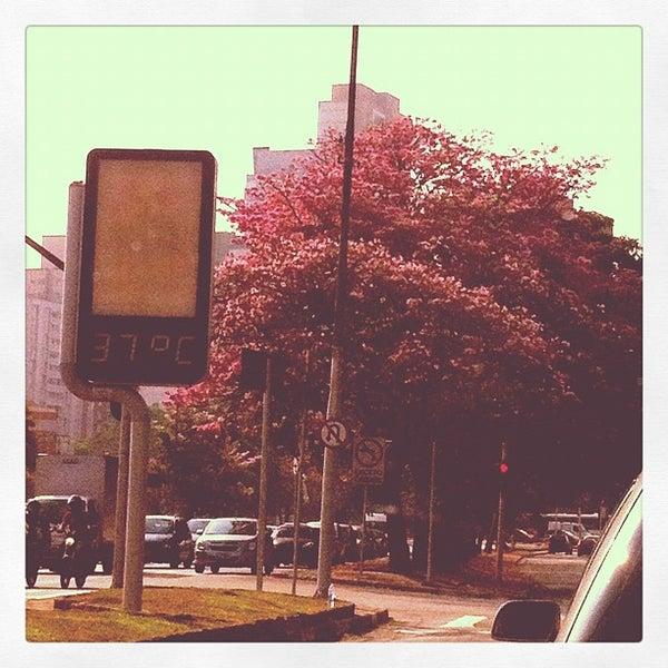Photo taken at Avenida Brasil by Talita B. on 10/25/2012