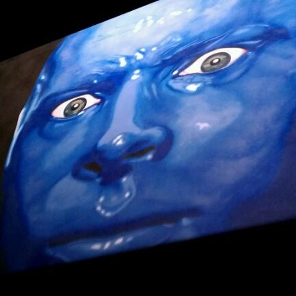 Photo taken at Blue Man Group at Universal CityWalk by Jyl D. on 2/8/2012